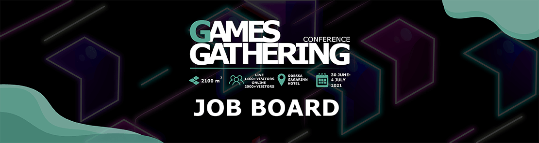 Games Gathering Odessa 2021